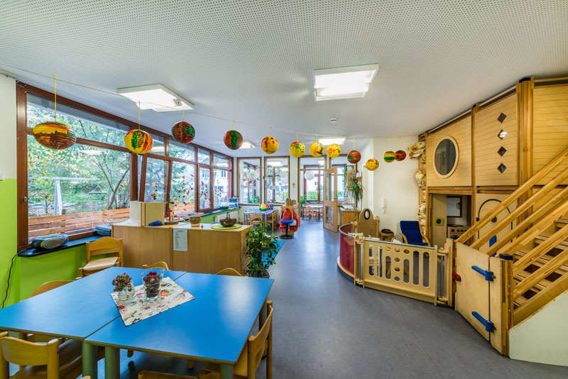 Frühlingslaube - Kinderhaus St. Gebhard