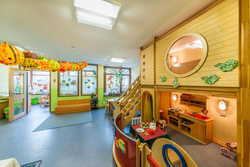 Herbsthöhle - Kinderhaus St. Gebhard